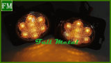 für JeepWrangler Jk LED Drehung-Signal-Licht-Nebel-Lampen-Schutzvorrichtung-Aufflackern