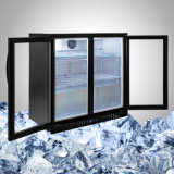 Singolo, doppio e portello triplice del frigorifero commerciale di Undercounter