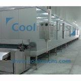 Gemüsekugel-Luft-Böe-Tunnel-schnelle Gefriermaschine/Tellersegment-schnelle Gefriermaschine