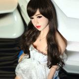 a boneca adulta do sexo do silicone japonês de 165cm, real fêz sob medida a boneca do sexo