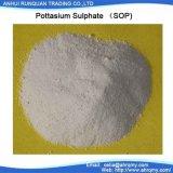 50%の水溶性K2so4カリウムの硫酸塩(SOP)肥料100%
