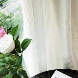 Ткань занавеса Linen маркизета жаккарда отвесная для живущий комнаты (18F0112)