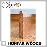 12 x 80mmの床張りにアクセサリの簡単な様式の木製にまわりを回ること