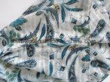 Écharpe classique d'infini de polyester estampée par Pailsey avec la construction de piste (HWBPS093)