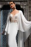 Платье венчания шали Afina просто шифоновое
