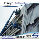 Stehende Naht-Fassade Trizip65-400