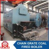石炭は熱湯のすぐにインストール済みボイラーを始動させた