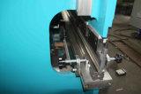 Máquina de dobra hidráulica da placa Wc67y-100X3200 de aço