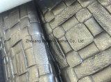 Cuir favorable à l'environnement de perle de PVC pour le sac de mode/capitonnage de sofa/meubles