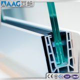 Perfil satinado de la protuberancia de aluminio/de aluminio