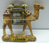 Magnete del frigorifero del cammello del ricordo per i regali del Medio Oriente