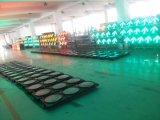 Semáforo rojo de la alta calidad y amarillo y verde impermeable del LED que contellea