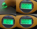Ferramenta do verificador do calibre de pressão do ar do pneumático do pneu do LCD Digital para a auto motocicleta do carro