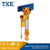 alzamiento de cadena eléctrico 10ton con la carretilla eléctrica