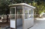 Casa prefabricada de la vida útil larga/prefabricada móvil fácil del rectángulo de centinela