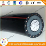 Изготовление ASTM Китая село компактированный кабель на мель пачки ABC алюминия XLPE воздушный