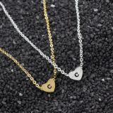 Zeichen-Inner-Kurzschluss-Initialen-Halskette des Edelstahl-C