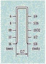 """Пневматический датчик 21 инструментов 5/8 """" точных сшивателей Fs8016-B кроны"""