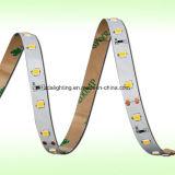 "12V-24V 60LEDs/M SMD2835 wärmen weiße Licht-Streifen ""der s-"" Form-LED"