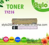 Cartucho de toner del color Tn216 para la impresora de Konica Minolta Bizhub C220 /C280 /C360