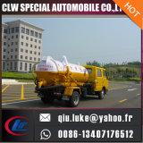 3m3 Dongfeng Xiaobawang 4 * 2 caminhão de sucção de esgoto de vácuo
