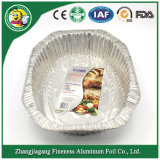 Wegwerfaluminiumfolie-Nahrungsmittelbehälter
