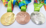 熱い販売の記念品自由な型の2016年のリオメダル
