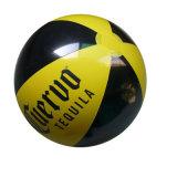 De Opblaasbare Bal van het Strand pvc of TPU met de Druk van het Embleem