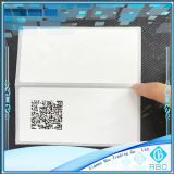 Escritura de la etiqueta elegante del papel de la etiqueta engomada de la tarjeta de etiqueta de RFID M4 para la biblioteca/el equipaje