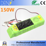 Fiches multi outre de C.C de véhicule de véhicule de réseau à l'inverseur de pouvoir à C.A. 150W avec l'USB