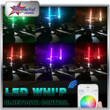 fruste di sicurezza di 4FT 5FT RGB LED dalle fruste del Bluetooth Control LED per le fruste della jeep UTV ATV LED