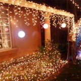 De Lichten van de openlucht LEIDENE van de Decoratie Vakantie van het Terras voor Kerstmis