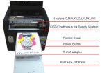 Impresora plana de la camiseta de Digitaces con diseño profesional