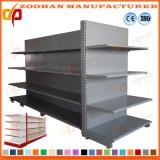 Étagère de présentoir de supermarché d'aménagement de gondole avec l'étagère d'extrémité (Zhs185)