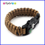 Bracelet de Paracord de survie des sports en plein air 550