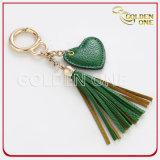 Kundenspezifische Form personifizierte reizende lederne Schlüsselkette