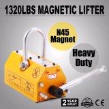 Grúa magnética de elevación de acero resistente del alzamiento del levantador del imán de 1320lb 600kg