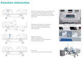 Sk001-10 다기능 전기 ICU 병원 환자 침대