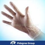 Перчатки винила - усиленное сжатие - качество качества еды для пищевых промышленностей