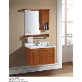 Установленная стеной мебель ванной комнаты