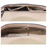 Ming Hua에서 새로운 디자인 여자 끈달린 가방 상단 손잡이 핸드백 메신저 진짜 가죽 지갑