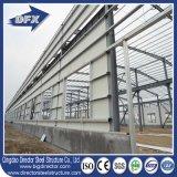 Edifício isolado metal galvanizado quente de aço da estação de incêndio com vidro de fibra e sistema de ventilação