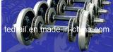 Les plaques ferroviaires de longeron ont modifié le jeu de roue
