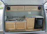 Type mini caravane de remorque de course de caravane de fibre de verre (TC-016) de campeur de larme