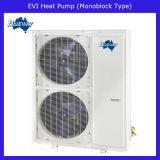 Calefator de água residencial da bomba de calor de Sourtce Evi do ar com inversor (R410A) para -15 ambiental ' aquecimento central de c~43'c - Compac