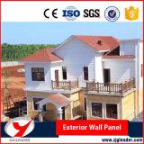 Scheda esterna del cemento della costruzione semplice