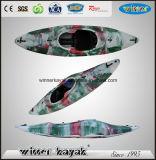 Kajak dell'acqua bianca con controllo gonfiabile del piede