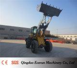 Everun CE aprobó 3.5ton compacto Front End cargador