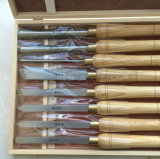 Деревянный поворачивая комплект инструментов для пользы машины и долбежная стамеска древесины для ручных резцов