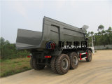 중국 HOWO 60t 덤프 트럭, 70t 탄광 팁 주는 사람